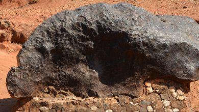 Photo of Mbozi Meteorite