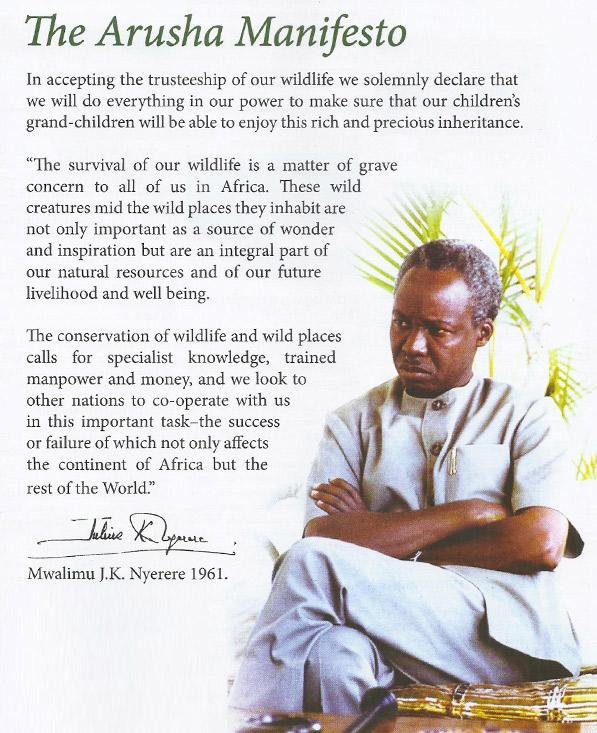 Arusha Manifesto
